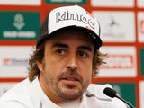 Fernando Alonso pictured in January 2020