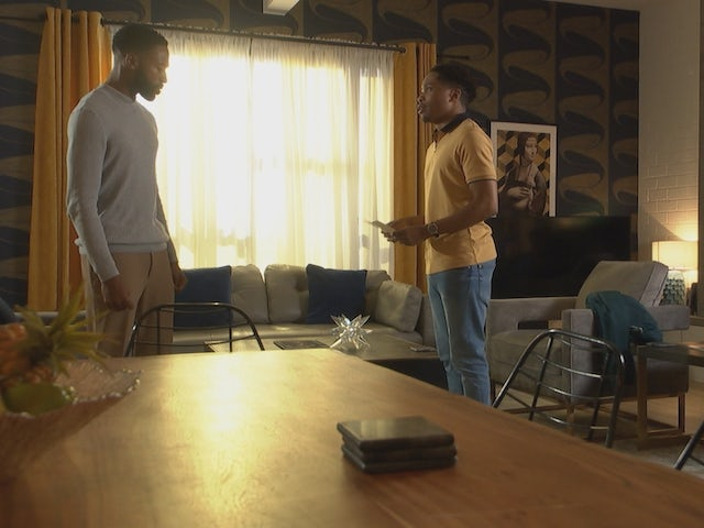 Mitchell and Toby on Hollyoaks episode 5445