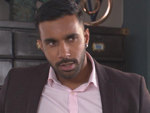 Sami on Hollyoaks episode 5446