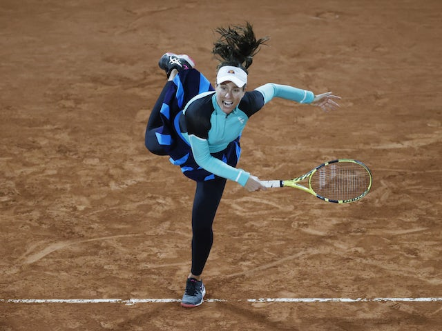 Johanna Konta returns to action with defeat against Shelby Rogers