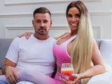 Katie Price and Carl Woods strike a casual pose on September 26, 2020