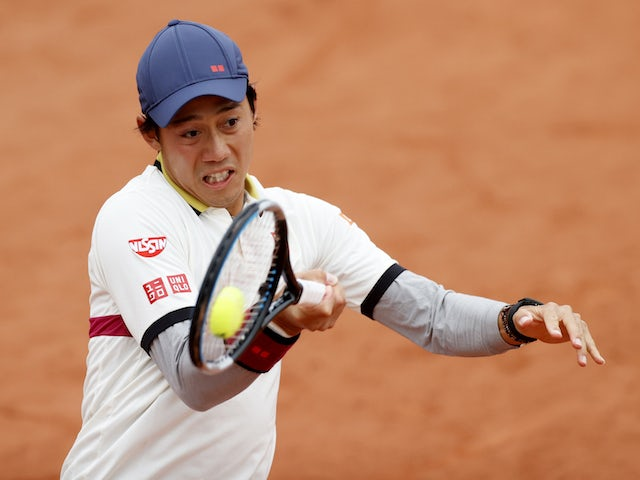 Result: Dan Evans knocked out of French Open by Kei Nishikori in five sets
