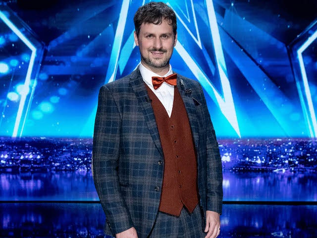 Kevin Quantum on the fourth semi-final of Britain's Got Talent on September 26, 2020