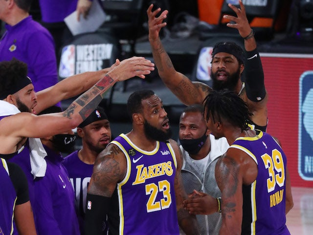 Result: LeBron James triple-double leads LA Lakers into first NBA Finals in a decade
