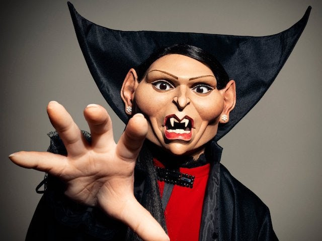 Spitting Image release first look at Priti Patel puppet