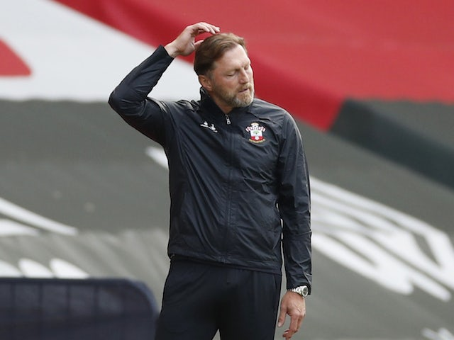 Southampton manager Ralph Hasenhuttl pictured in September 2020