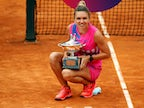 Result: Simona Halep wins first Italian Open title after Karolina Pliskova forced to retire