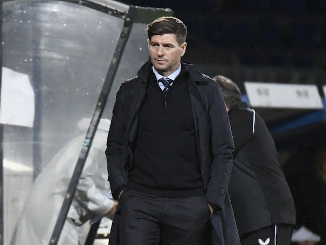 Steven Gerrard admits Rangers will be underdogs against Galatasaray