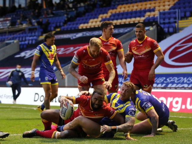 Result: Warrington overcome jetlagged Catalans Dragons to maintain 100% record