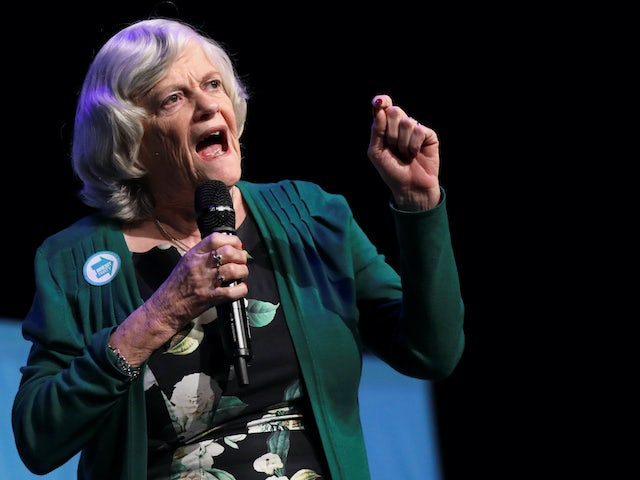Ann Widdecombe pictured in May 2019