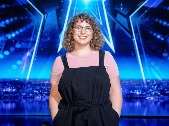 Beth Porch on the fifth semi-final of Britain's Got Talent on October 3, 2020