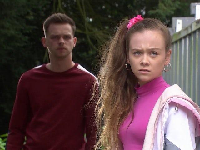 Juliet on Hollyoaks on October 5, 2020