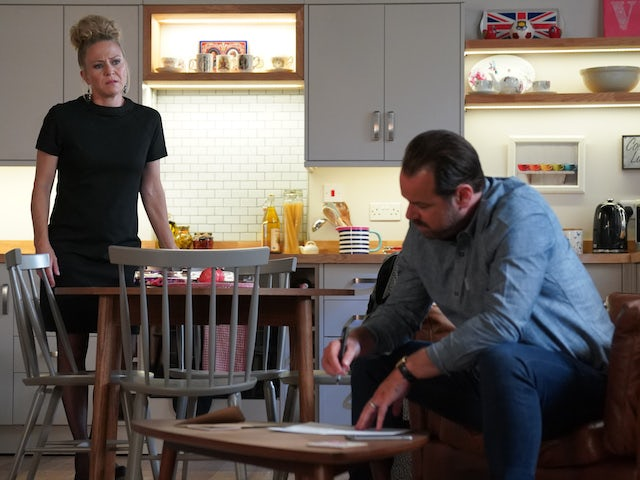 Mick and Linda on EastEnders on October 8, 2020