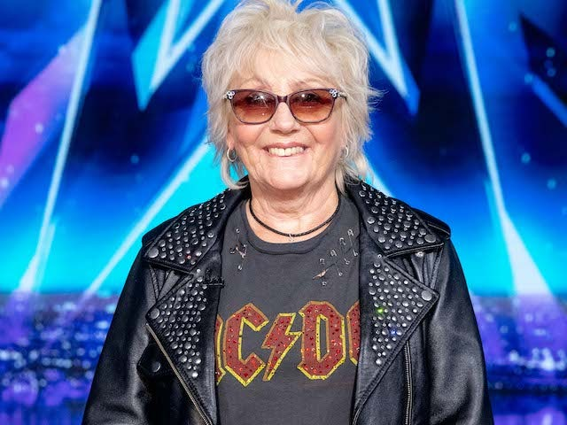 Chrissy Lee on the fifth semi-final of Britain's Got Talent on October 3, 2020