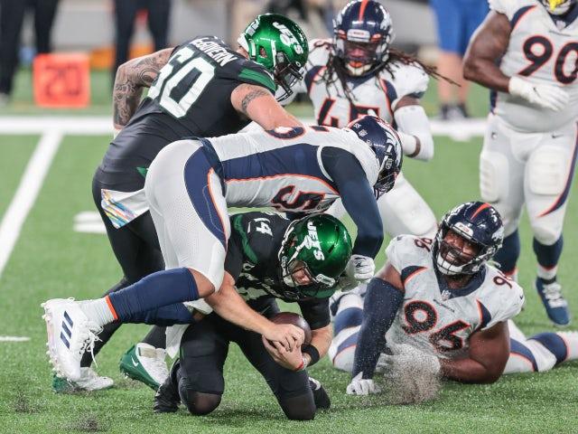 Result: Depleted Denver Broncos overcome fellow strugglers New York Jets