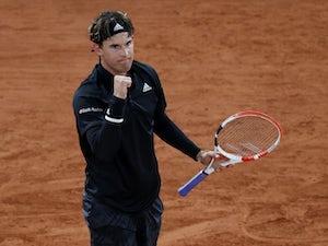 Dominic Thiem overcomes Casper Rudd in third round of French Open