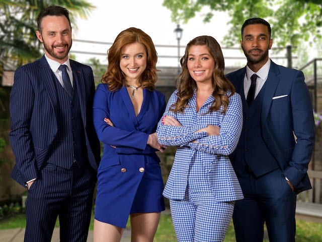 New Dee Valley Law photo on Hollyoaks on October 6, 2020