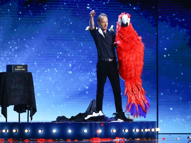 Hakan Berg on the fifth semi-final of Britain's Got Talent on October 3, 2020