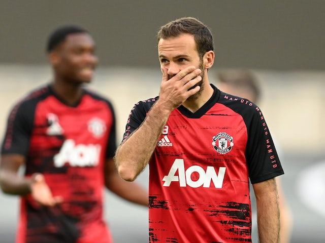Man United yet to decide on Juan Mata future