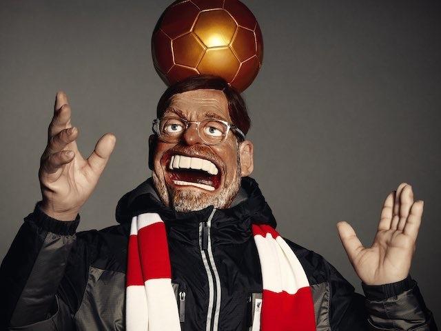 Spitting Image puppet of Jurgen Klopp