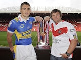 Kevin Sinfield and Kieron Cunningham in 2008
