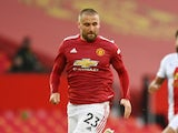 Manchester United defender Luke Shaw pictured in September 2020