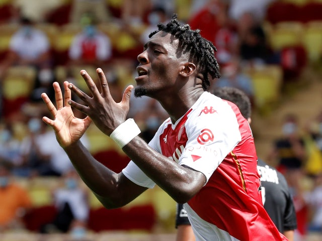 Monaco's Axel Disasi pictured in August 2020