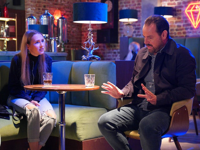 Mick and Frankie on EastEnders on October 6, 2020