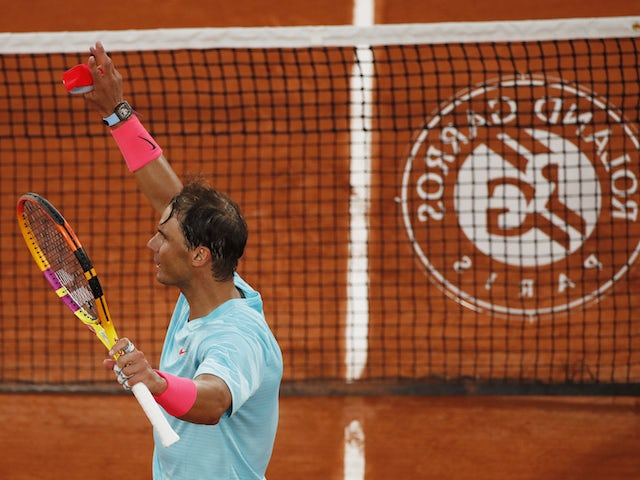 Rafael Nadal begins quest for 13th French Open title with straight-sets win