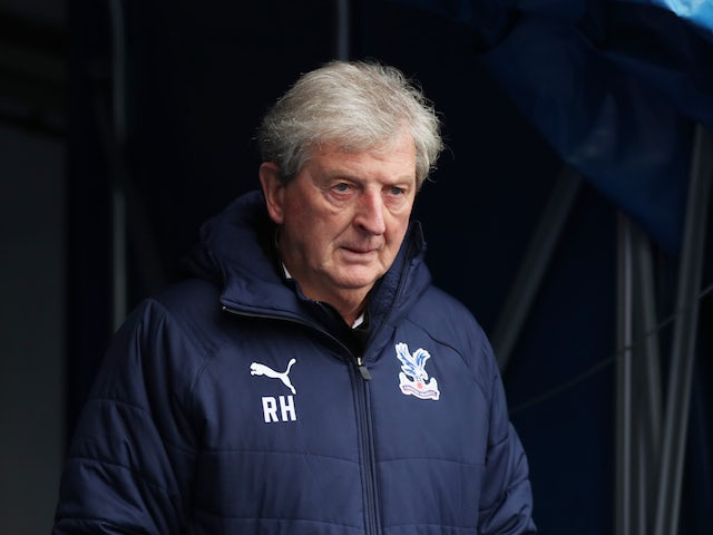 Crystal Palace manager Roy Hodgson pictured in September 2020