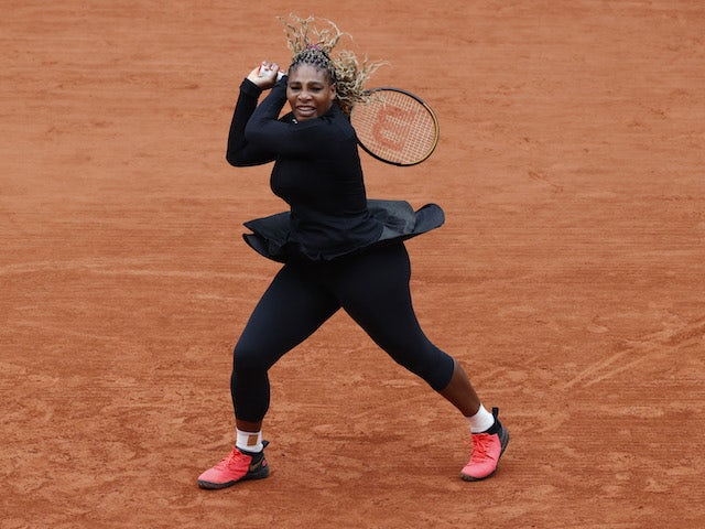 Serena Williams admits lack of confidence during French Open win