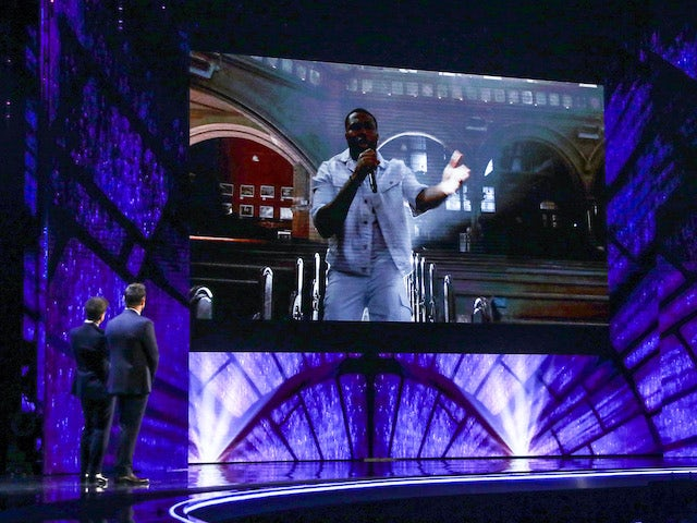 Shalom Chorale on the fifth semi-final of Britain's Got Talent on October 3, 2020