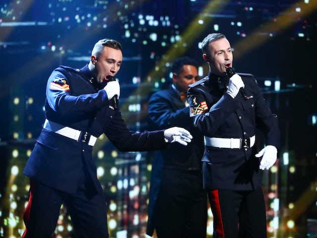 Soldiers of Swing on the fifth semi-final of Britain's Got Talent on October 3, 2020