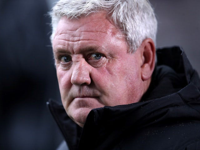 Newcastle United manager Steve Bruce pictured on September 30, 2020