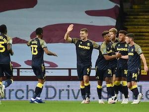Sam Vokes scores winner as Stoke City beat Aston Villa in EFL Cup