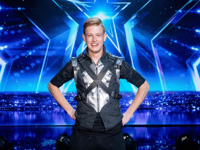 Wesley Williams on the fifth semi-final of Britain's Got Talent on October 3, 2020