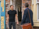 Todd on the second episode of Coronation Street on October 19, 2020