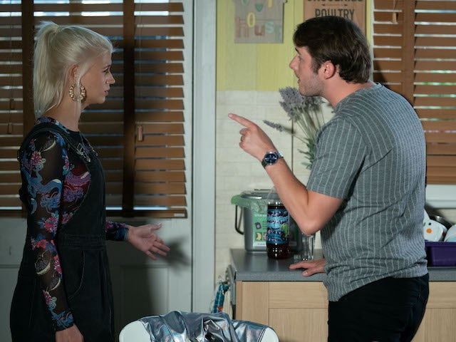 Ben and Lola on EastEnders on October 13, 2020