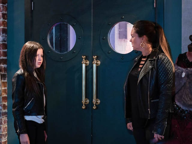 Lily and Stacey on EastEnders on October 20, 2020
