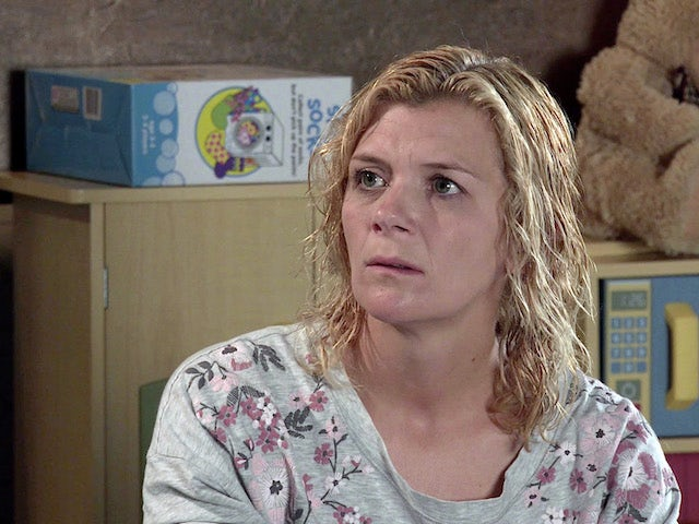 Leanne on the first episode of Coronation Street on October 23, 2020