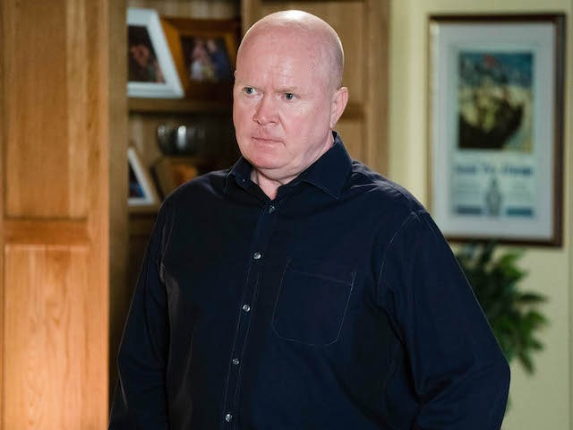 Phil on EastEnders on October 23, 2020