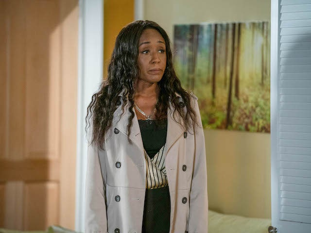 Denise on EastEnders on October 23, 2020