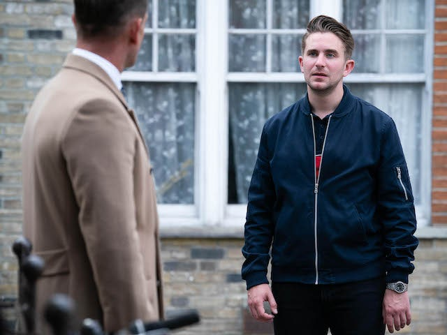 Callum on EastEnders on October 22, 2020