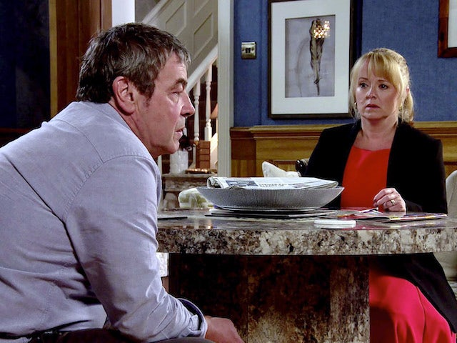 Johnny and Jenny on the second episode of Coronation Street on October 28, 2020