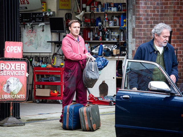 Tyrone on Coronation Street's first episode on October 14, 2020