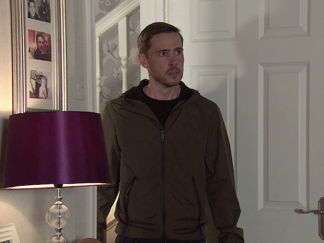 Todd on Coronation Street's second episode on October 14, 2020