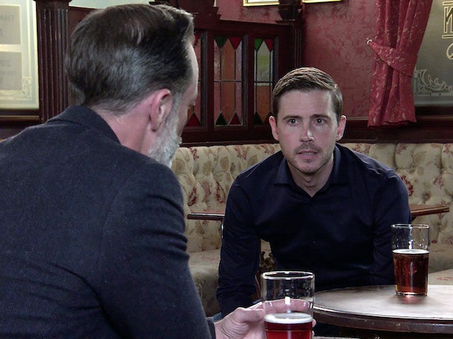 Todd on the second episode of Coronation Street on October 21, 2020
