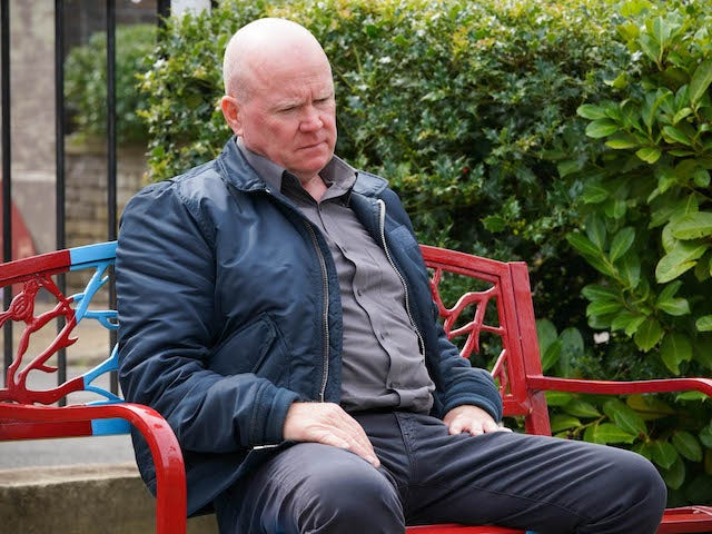 Phil on EastEnders on October 19, 2020