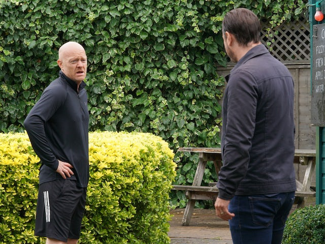 Max on EastEnders on October 12, 2020