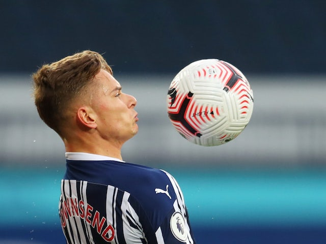 Team News: West Brom will be without Conor Townsend against Palace